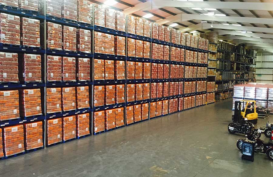 warehousing and storage system