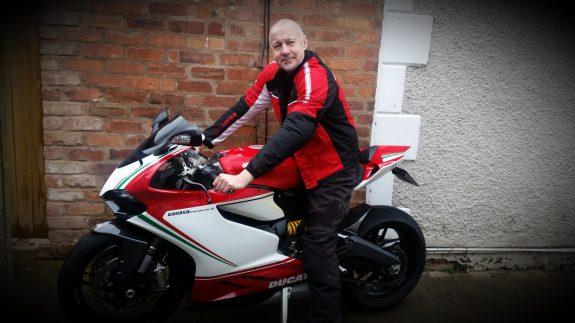 Britains Proudest Motorbike Owner